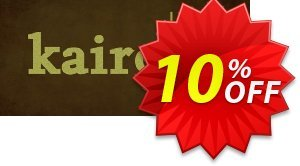 Kairo PC Coupon discount Kairo PC Deal. Promotion: Kairo PC Exclusive Easter Sale offer for iVoicesoft