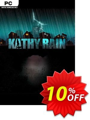 Kathy Rain PC 프로모션 코드 Kathy Rain PC Deal 프로모션: Kathy Rain PC Exclusive Easter Sale offer for iVoicesoft