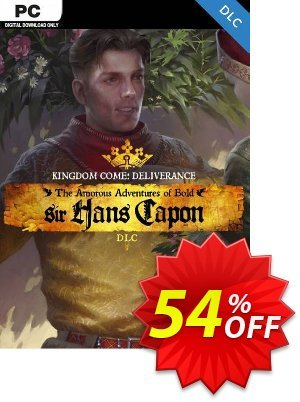 Kingdom Come Deliverance PC – The Amorous Adventures of Bold Sir Hans Capon DLC discount coupon Kingdom Come Deliverance PC – The Amorous Adventures of Bold Sir Hans Capon DLC Deal - Kingdom Come Deliverance PC – The Amorous Adventures of Bold Sir Hans Capon DLC Exclusive Easter Sale offer for iVoicesoft