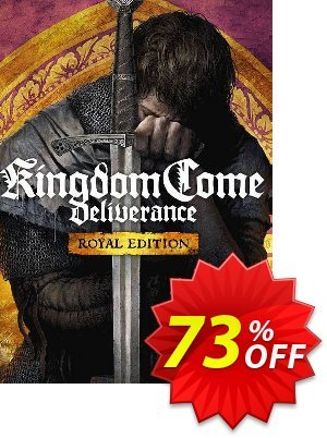 Kingdom Come: Deliverance Royal Edition PC discount coupon Kingdom Come: Deliverance Royal Edition PC Deal - Kingdom Come: Deliverance Royal Edition PC Exclusive Easter Sale offer for iVoicesoft