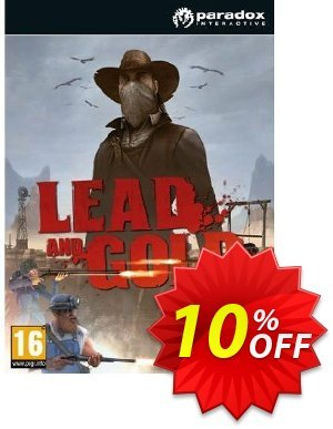 Lead and Gold (PC) discount coupon Lead and Gold (PC) Deal - Lead and Gold (PC) Exclusive Easter Sale offer for iVoicesoft