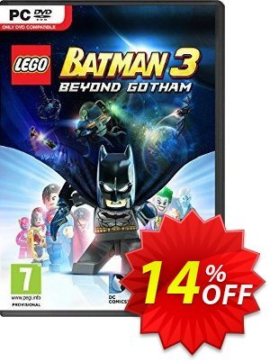 LEGO Batman 3: Beyond Gotham PC discount coupon LEGO Batman 3: Beyond Gotham PC Deal - LEGO Batman 3: Beyond Gotham PC Exclusive Easter Sale offer for iVoicesoft