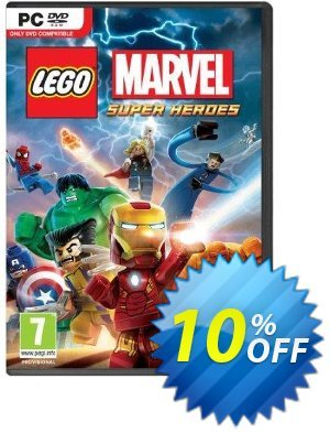 LEGO Marvel Super Heroes PC Coupon discount LEGO Marvel Super Heroes PC Deal. Promotion: LEGO Marvel Super Heroes PC Exclusive Easter Sale offer for iVoicesoft