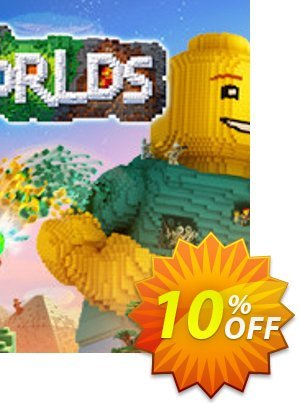 LEGO Worlds PC割引コード・LEGO Worlds PC Deal キャンペーン:LEGO Worlds PC Exclusive Easter Sale offer for iVoicesoft