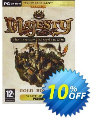 Majesty: Gold Edition - Majesty and Northern Expansion (PC) 프로모션 코드 Majesty: Gold Edition - Majesty and Northern Expansion (PC) Deal 프로모션: Majesty: Gold Edition - Majesty and Northern Expansion (PC) Exclusive Easter Sale offer for iVoicesoft