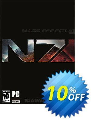 Mass Effect 3: N7 Deluxe Edition PC discount coupon Mass Effect 3: N7 Deluxe Edition PC Deal - Mass Effect 3: N7 Deluxe Edition PC Exclusive Easter Sale offer for iVoicesoft