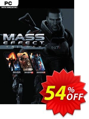 Mass Effect Trilogy PC discount coupon Mass Effect Trilogy PC Deal - Mass Effect Trilogy PC Exclusive Easter Sale offer for iVoicesoft