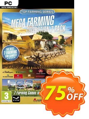 Mega Farming Collection - 7 Pack PC discount coupon Mega Farming Collection - 7 Pack PC Deal - Mega Farming Collection - 7 Pack PC Exclusive Easter Sale offer for iVoicesoft