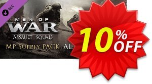 Men of War Assault Squad MP Supply Pack Alpha PC discount coupon Men of War Assault Squad MP Supply Pack Alpha PC Deal - Men of War Assault Squad MP Supply Pack Alpha PC Exclusive Easter Sale offer for iVoicesoft