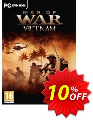Men Of War: Vietnam (PC-DVD) discount coupon Men Of War: Vietnam (PC-DVD) Deal - Men Of War: Vietnam (PC-DVD) Exclusive Easter Sale offer for iVoicesoft