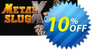 METAL SLUG X PC 프로모션 코드 METAL SLUG X PC Deal 프로모션: METAL SLUG X PC Exclusive Easter Sale offer for iVoicesoft