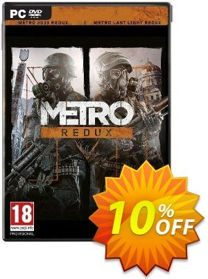 Metro Redux PC 프로모션 코드 Metro Redux PC Deal 프로모션: Metro Redux PC Exclusive Easter Sale offer for iVoicesoft