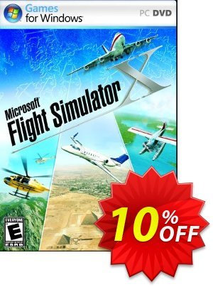 Microsoft Flight Simulator X PC 프로모션 코드 Microsoft Flight Simulator X PC Deal 프로모션: Microsoft Flight Simulator X PC Exclusive Easter Sale offer for iVoicesoft