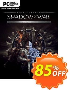 Middle-earth Shadow of War Silver Edition PC discount coupon Middle-earth Shadow of War Silver Edition PC Deal - Middle-earth Shadow of War Silver Edition PC Exclusive Easter Sale offer for iVoicesoft