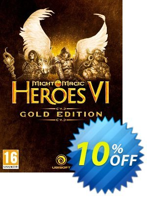 Might and Magic Heroes VI 6: Gold Edition PC 프로모션 코드 Might and Magic Heroes VI 6: Gold Edition PC Deal 프로모션: Might and Magic Heroes VI 6: Gold Edition PC Exclusive Easter Sale offer for iVoicesoft