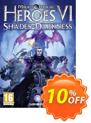 Might and Magic Heroes VI 6: Shades of Darkness PC discount coupon Might and Magic Heroes VI 6: Shades of Darkness PC Deal - Might and Magic Heroes VI 6: Shades of Darkness PC Exclusive Easter Sale offer for iVoicesoft