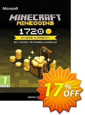 Minecraft: 1720 Minecoins 프로모션 코드 Minecraft: 1720 Minecoins Deal 프로모션: Minecraft: 1720 Minecoins Exclusive Easter Sale offer for iVoicesoft