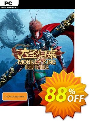 Monkey King: Hero is Back PC discount coupon Monkey King: Hero is Back PC Deal - Monkey King: Hero is Back PC Exclusive Easter Sale offer for iVoicesoft