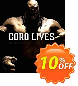 Mortal Kombat X PC Goro DLC discount coupon Mortal Kombat X PC Goro DLC Deal - Mortal Kombat X PC Goro DLC Exclusive Easter Sale offer for iVoicesoft