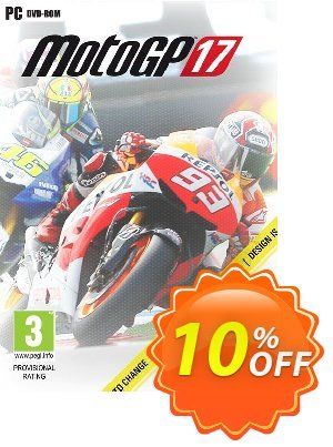 MotoGP 17 PC discount coupon MotoGP 17 PC Deal - MotoGP 17 PC Exclusive Easter Sale offer for iVoicesoft