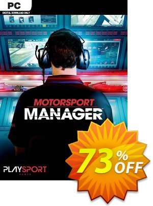Motorsport Manager PC discount coupon Motorsport Manager PC Deal - Motorsport Manager PC Exclusive Easter Sale offer for iVoicesoft