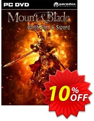 Mount and Blade with Fire and Sword (PC) 프로모션 코드 Mount and Blade with Fire and Sword (PC) Deal 프로모션: Mount and Blade with Fire and Sword (PC) Exclusive Easter Sale offer for iVoicesoft