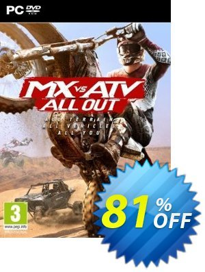 MX vs ATV All Out PC 프로모션 코드 MX vs ATV All Out PC Deal 프로모션: MX vs ATV All Out PC Exclusive Easter Sale offer for iVoicesoft