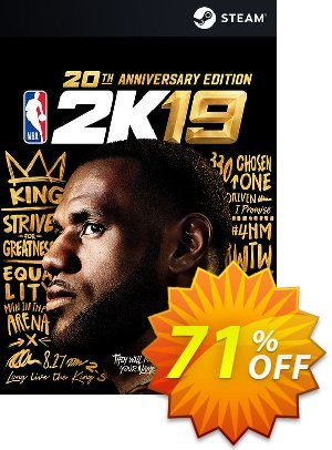 NBA 2K19 20th Anniversary Edition PC (EU) discount coupon NBA 2K19 20th Anniversary Edition PC (EU) Deal - NBA 2K19 20th Anniversary Edition PC (EU) Exclusive Easter Sale offer for iVoicesoft