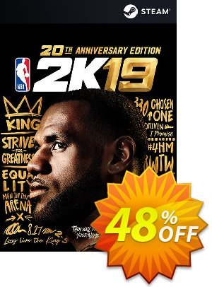 NBA 2K19 20th Anniversary Edition PC discount coupon NBA 2K19 20th Anniversary Edition PC Deal - NBA 2K19 20th Anniversary Edition PC Exclusive Easter Sale offer for iVoicesoft