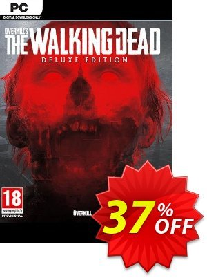 Overkills The Walking Dead Deluxe Edition PC discount coupon Overkills The Walking Dead Deluxe Edition PC Deal - Overkills The Walking Dead Deluxe Edition PC Exclusive Easter Sale offer for iVoicesoft