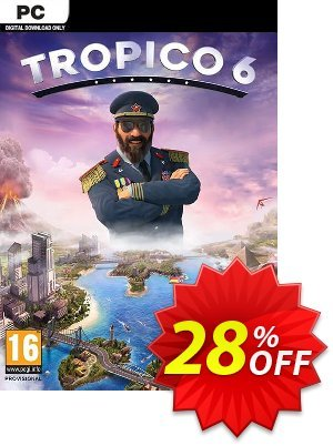 Tropico 6 PC (EU) discount coupon Tropico 6 PC (EU) Deal - Tropico 6 PC (EU) Exclusive Easter Sale offer for iVoicesoft