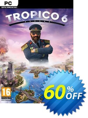 Tropico 6 PC (AUS/NZ) discount coupon Tropico 6 PC (AUS/NZ) Deal - Tropico 6 PC (AUS/NZ) Exclusive Easter Sale offer for iVoicesoft