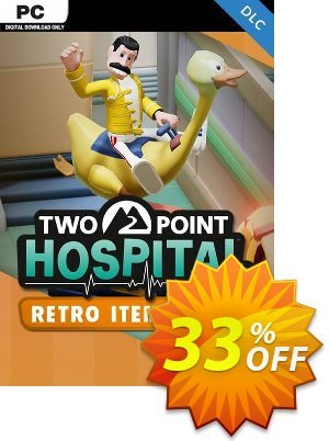 Two Point Hospital PC - Retro Items Pack DLC (EU) discount coupon Two Point Hospital PC - Retro Items Pack DLC (EU) Deal - Two Point Hospital PC - Retro Items Pack DLC (EU) Exclusive Easter Sale offer for iVoicesoft