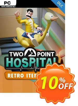 Two Point Hospital PC - Retro Items Pack DLC (US) discount coupon Two Point Hospital PC - Retro Items Pack DLC (US) Deal - Two Point Hospital PC - Retro Items Pack DLC (US) Exclusive Easter Sale offer for iVoicesoft