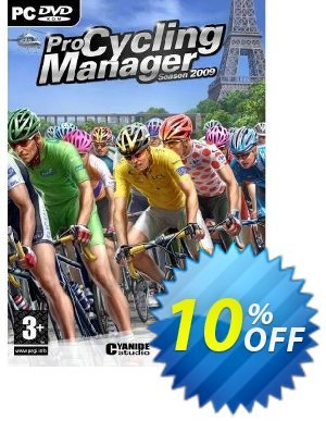 Pro Cycling Manager 2009 (PC) Coupon discount Pro Cycling Manager 2009 (PC) Deal. Promotion: Pro Cycling Manager 2009 (PC) Exclusive Easter Sale offer for iVoicesoft