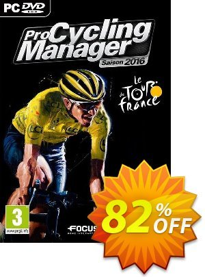 Pro Cycling Manager 2016 PC Coupon discount Pro Cycling Manager 2016 PC Deal. Promotion: Pro Cycling Manager 2016 PC Exclusive Easter Sale offer for iVoicesoft