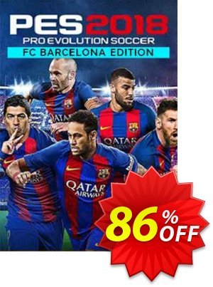 Pro Evolution Soccer (PES) 2018 - Barcelona Edition PC discount coupon Pro Evolution Soccer (PES) 2018 - Barcelona Edition PC Deal - Pro Evolution Soccer (PES) 2018 - Barcelona Edition PC Exclusive Easter Sale offer for iVoicesoft