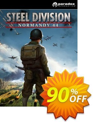 Steel Division Normandy 44 PC discount coupon Steel Division Normandy 44 PC Deal - Steel Division Normandy 44 PC Exclusive Easter Sale offer for iVoicesoft