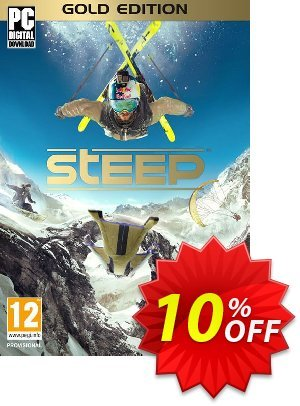 Steep Gold Edition PC discount coupon Steep Gold Edition PC Deal - Steep Gold Edition PC Exclusive Easter Sale offer for iVoicesoft