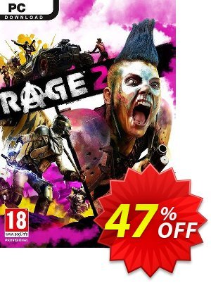 Rage 2 PC (US) 프로모션 코드 Rage 2 PC (US) Deal 프로모션: Rage 2 PC (US) Exclusive Easter Sale offer for iVoicesoft