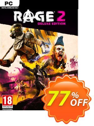 Rage 2 Deluxe Edition PC + DLC discount coupon Rage 2 Deluxe Edition PC + DLC Deal - Rage 2 Deluxe Edition PC + DLC Exclusive Easter Sale offer for iVoicesoft
