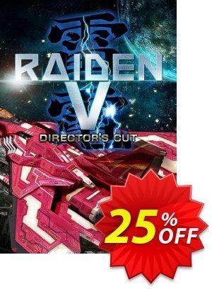 Raiden V: Directors Cut PC 프로모션 코드 Raiden V: Directors Cut PC Deal 프로모션: Raiden V: Directors Cut PC Exclusive Easter Sale offer for iVoicesoft
