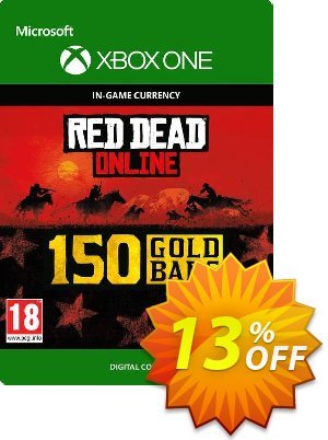 Red Dead Online: 150 Gold Bars Xbox One discount coupon Red Dead Online: 150 Gold Bars Xbox One Deal - Red Dead Online: 150 Gold Bars Xbox One Exclusive Easter Sale offer for iVoicesoft