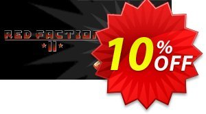 Red Faction II PC 優惠券,折扣碼 Red Faction II PC Deal,促銷代碼: Red Faction II PC Exclusive Easter Sale offer for iVoicesoft