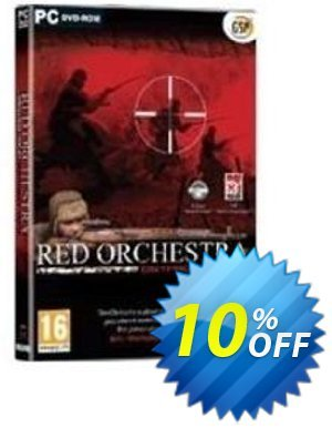 Red Orchestra (PC) Coupon discount Red Orchestra (PC) Deal. Promotion: Red Orchestra (PC) Exclusive Easter Sale offer for iVoicesoft