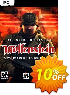 Return to Castle Wolfenstein PC discount coupon Return to Castle Wolfenstein PC Deal - Return to Castle Wolfenstein PC Exclusive Easter Sale offer for iVoicesoft