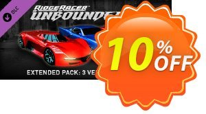 Ridge Racer Unbounded Extended Pack 3 Vehicles + 5 Paint Jobs PC offering deals