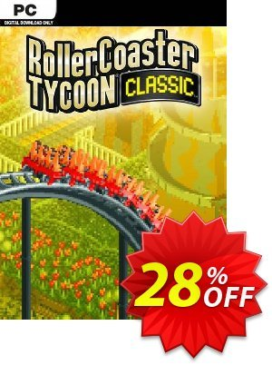 Rollercoaster Tycoon Classic PC 프로모션 코드 Rollercoaster Tycoon Classic PC Deal 프로모션: Rollercoaster Tycoon Classic PC Exclusive Easter Sale offer for iVoicesoft