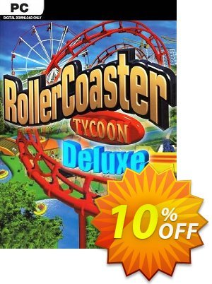 RollerCoaster Tycoon Deluxe PC 프로모션 코드 RollerCoaster Tycoon Deluxe PC Deal 프로모션: RollerCoaster Tycoon Deluxe PC Exclusive Easter Sale offer for iVoicesoft