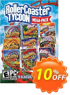 Rollercoaster Tycoon Mega Pack PC discount coupon Rollercoaster Tycoon Mega Pack PC Deal - Rollercoaster Tycoon Mega Pack PC Exclusive Easter Sale offer for iVoicesoft